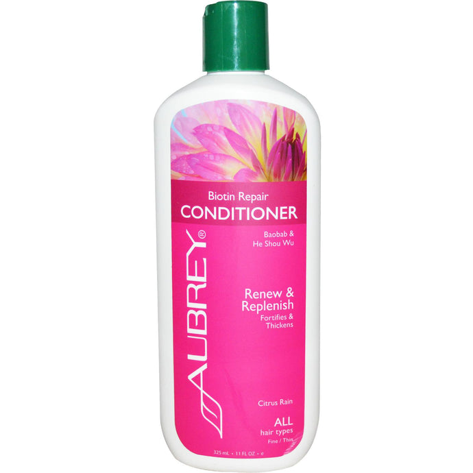 Aubrey Organics, Biotin Repair Conditioner, 325 ml
