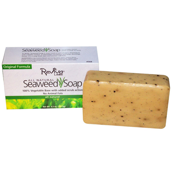 Reviva Labs, Natural Seaweed Soap 127.5gms