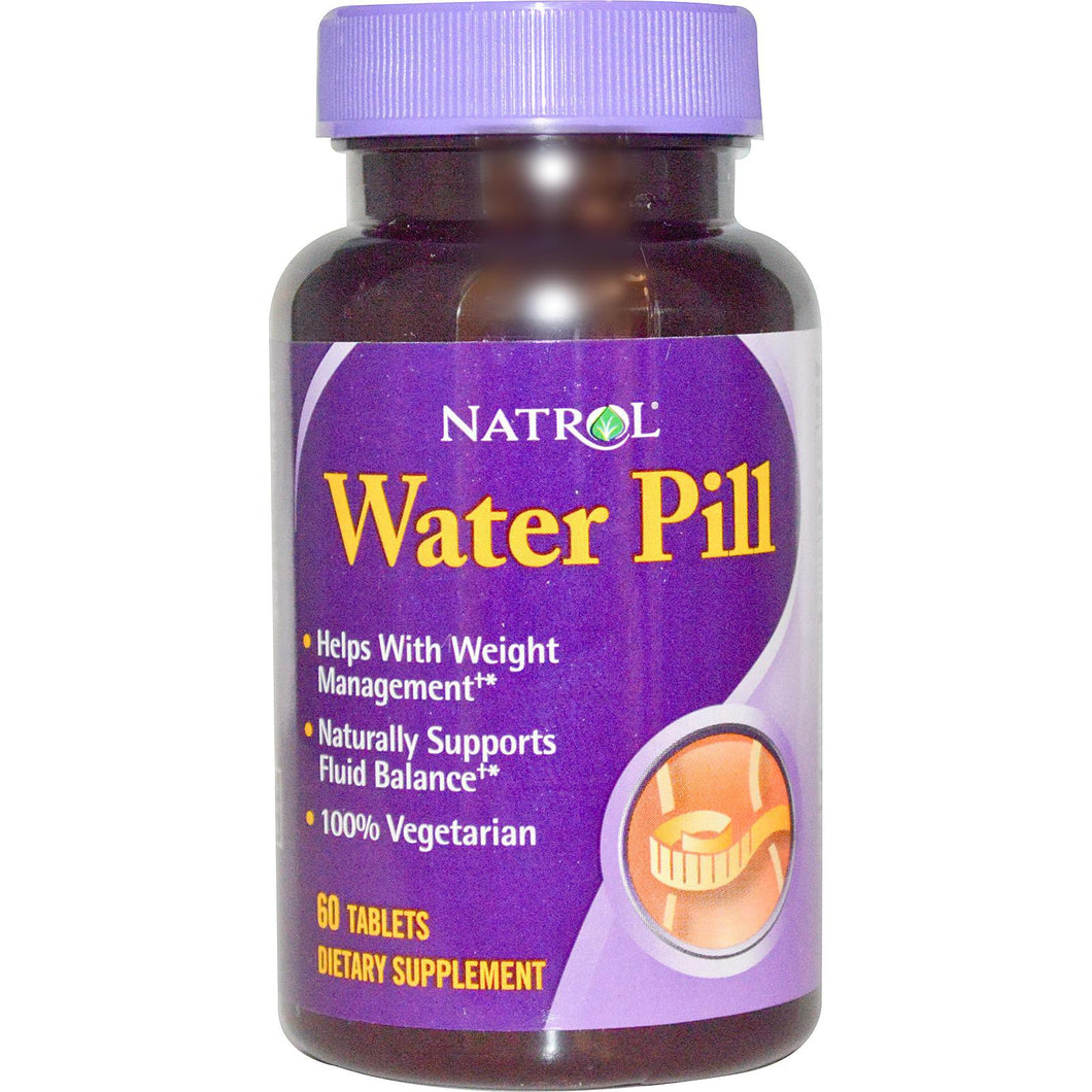 Natrol, Water Pill, 60 Tablets ... VOLUME DISCOUNT