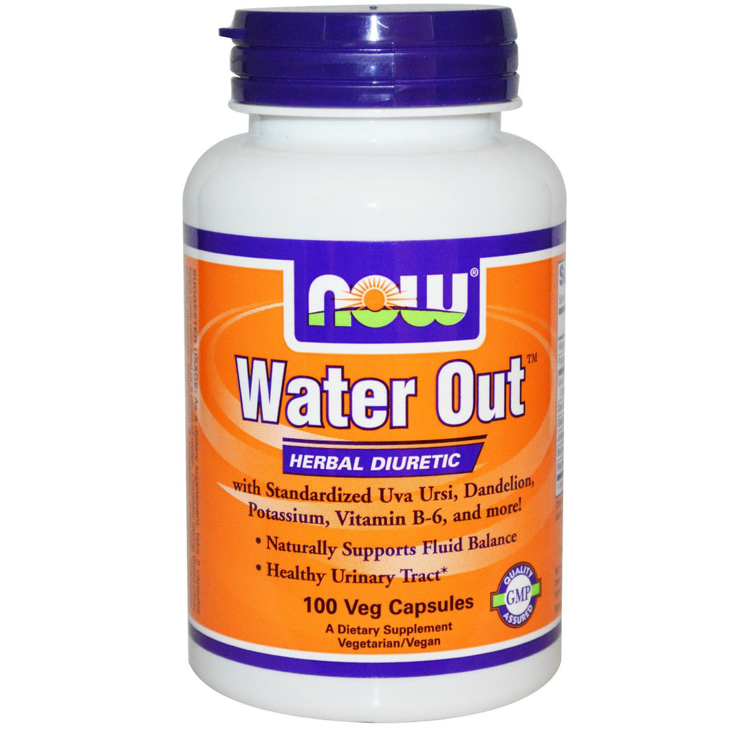 Now Foods, Water Out, Herbal Diuretic, 100 Veggie Capsules