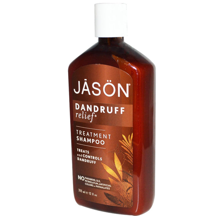 Jason Natural, Treatment Shampoo, Dandruff Relief, 355 ml