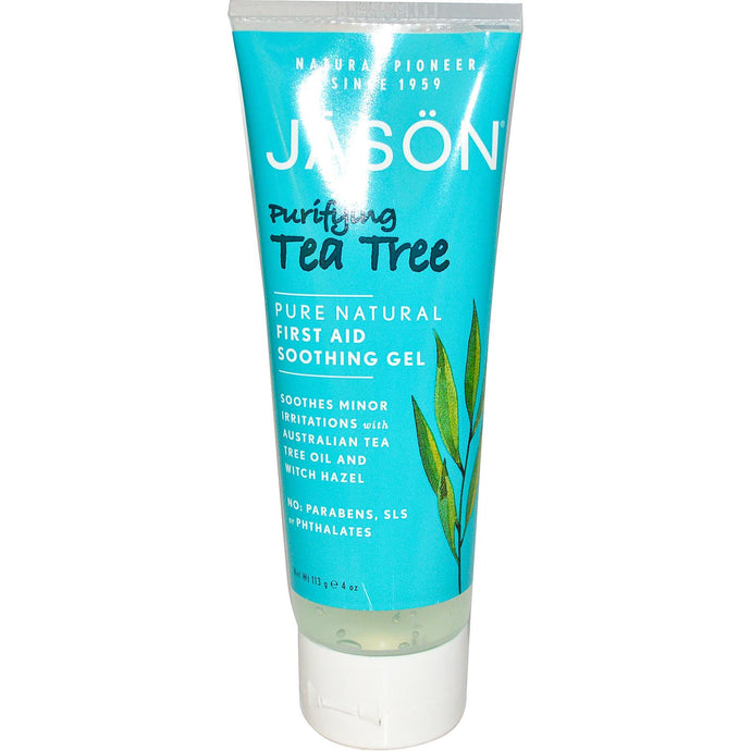 Jason Natural, First Aid Soothing Gel, Purifying Tea Tree, 113 g