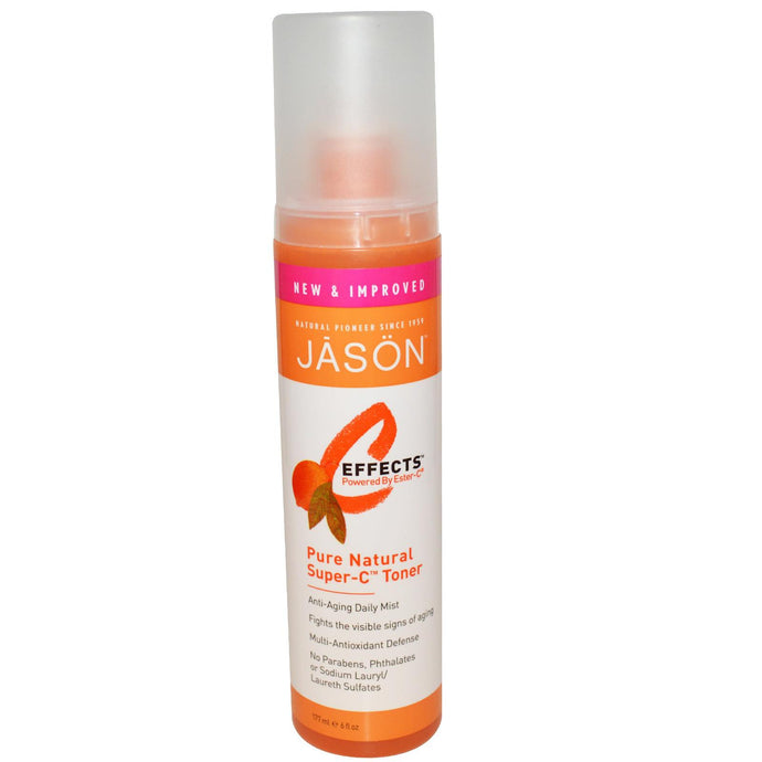 Jason Natural, C-Effects, Pure Natural Super-C, Toner, 177 ml