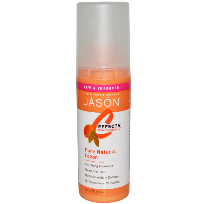 Jason Natural, C-Effects, Pure Natural Lotion, 113 g