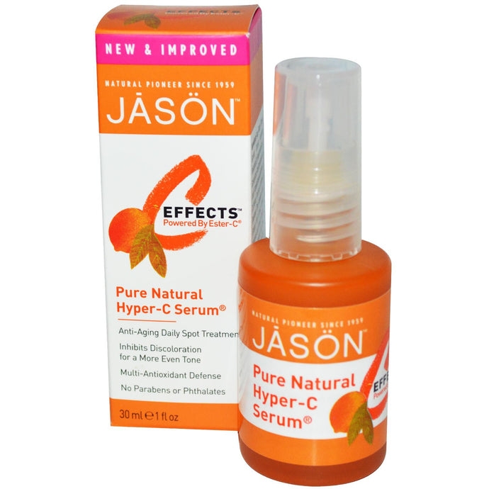 Jason Natural, C-Effects, Hyper-C Serum, Anti-Aging Daily Spot Treatment, 30 ml