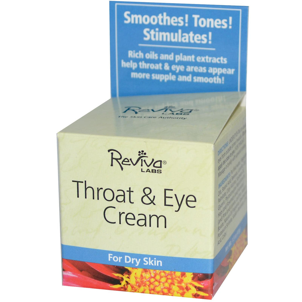 Reviva Labs, Throat & Eye Cream (42gms)