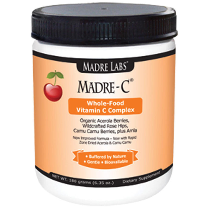 Madre Labs, Whole-Food Vitamin C Complex, 180 g, 6.35 oz