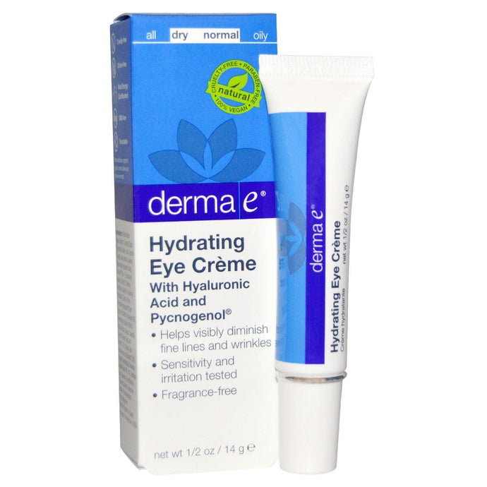 Derma E Hydrating Eye Cream with Hyaluronic Acid & Pycnogenol 14 g