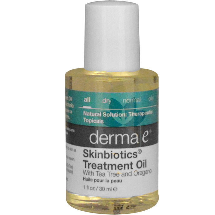 Derma E, Skinbiotics, Treatment Oil, with Tea Tree & Oregano, 30 ml, 1 fl oz