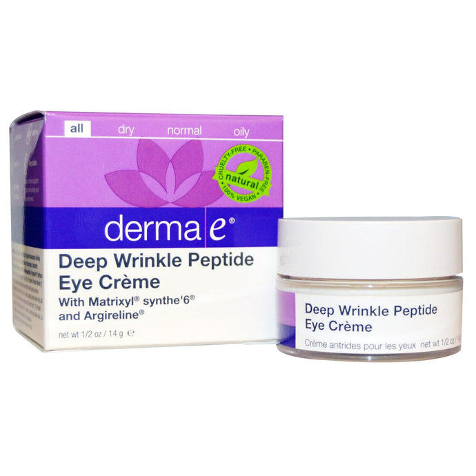 Derma E, Deep Wrinkle Peptide Eye Cream, 14 g