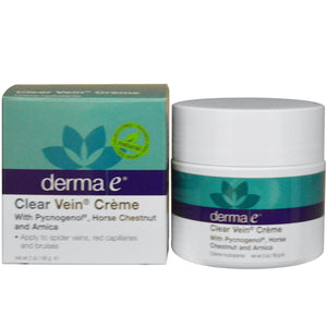 Derma E, Vein Cream, 56 g, 2 oz