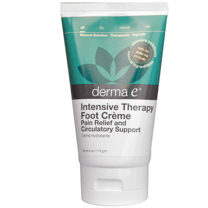 Derma E, Intensive Therapy Foot Cream, 113 g