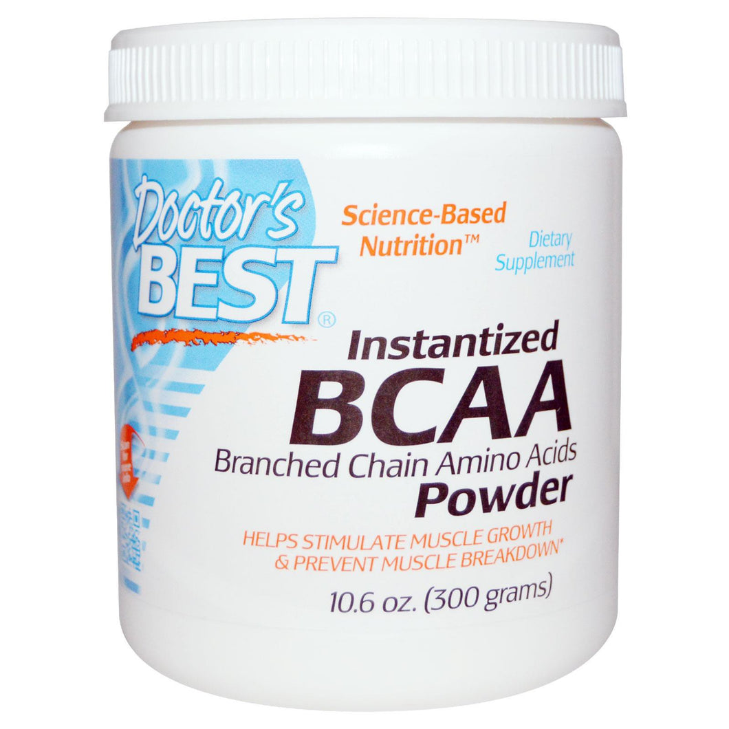 Doctor's Best, BCAA, Instantised BCAA, Powder, 300 g