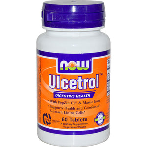 Now Foods Ulcetrol 60 Tablets - Dietary Supplement
