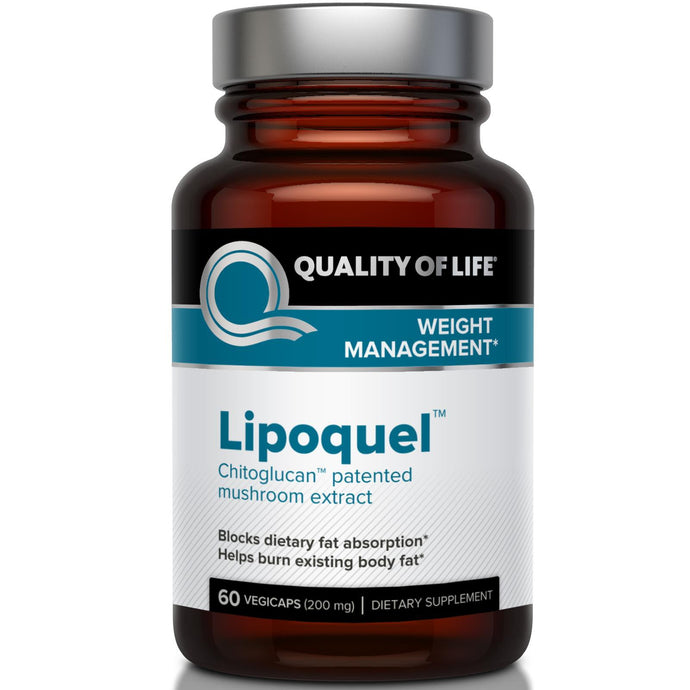 Quality of Life Labs, Lipoquel, Weight Management, 200 mg, 60 Veggie Capsules