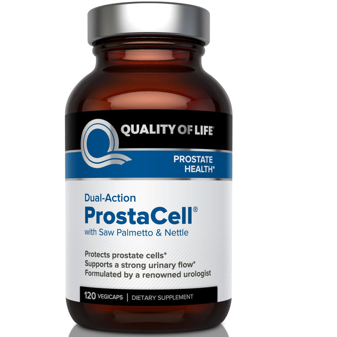 Quality of Life Labs, ProstaCell, with Saw Palmetto & Nettle, Dual-Action, 120 Veggie Capsules