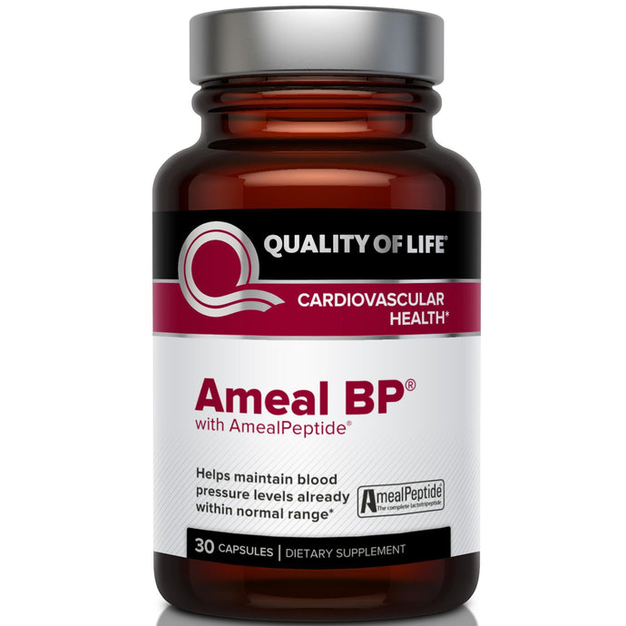 Quality of Life Labs, Ameal BP, Cardiovascular Health, 30 Capsules