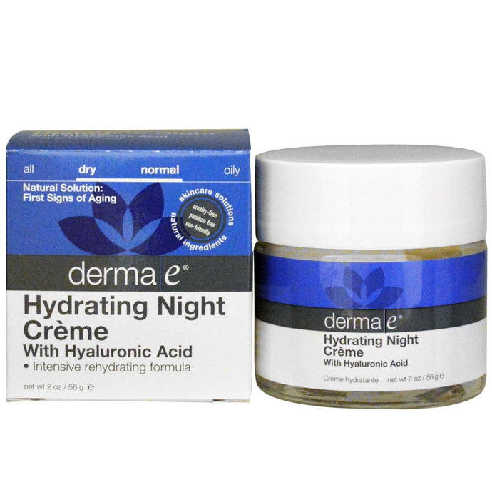 Derma E, Hydrating Night Cream, 50 g