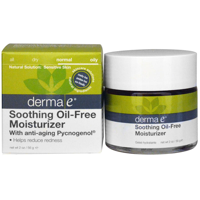 Derma E, Soothing Oil-Free Moisturiser with Anti-Aging Pycnogenol, 56 g
