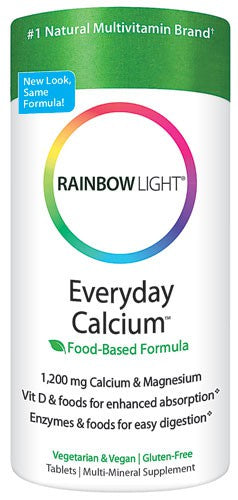 Rainbow Light, Everyday Calcium, 120 Tablets