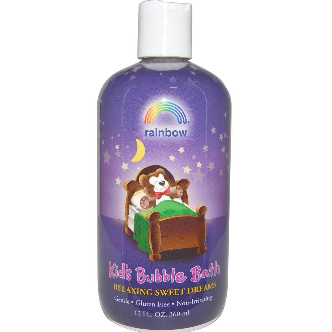 Rainbow Research, Kid's Bubble Bath, Relaxing Sweet Dreams, 360 ml