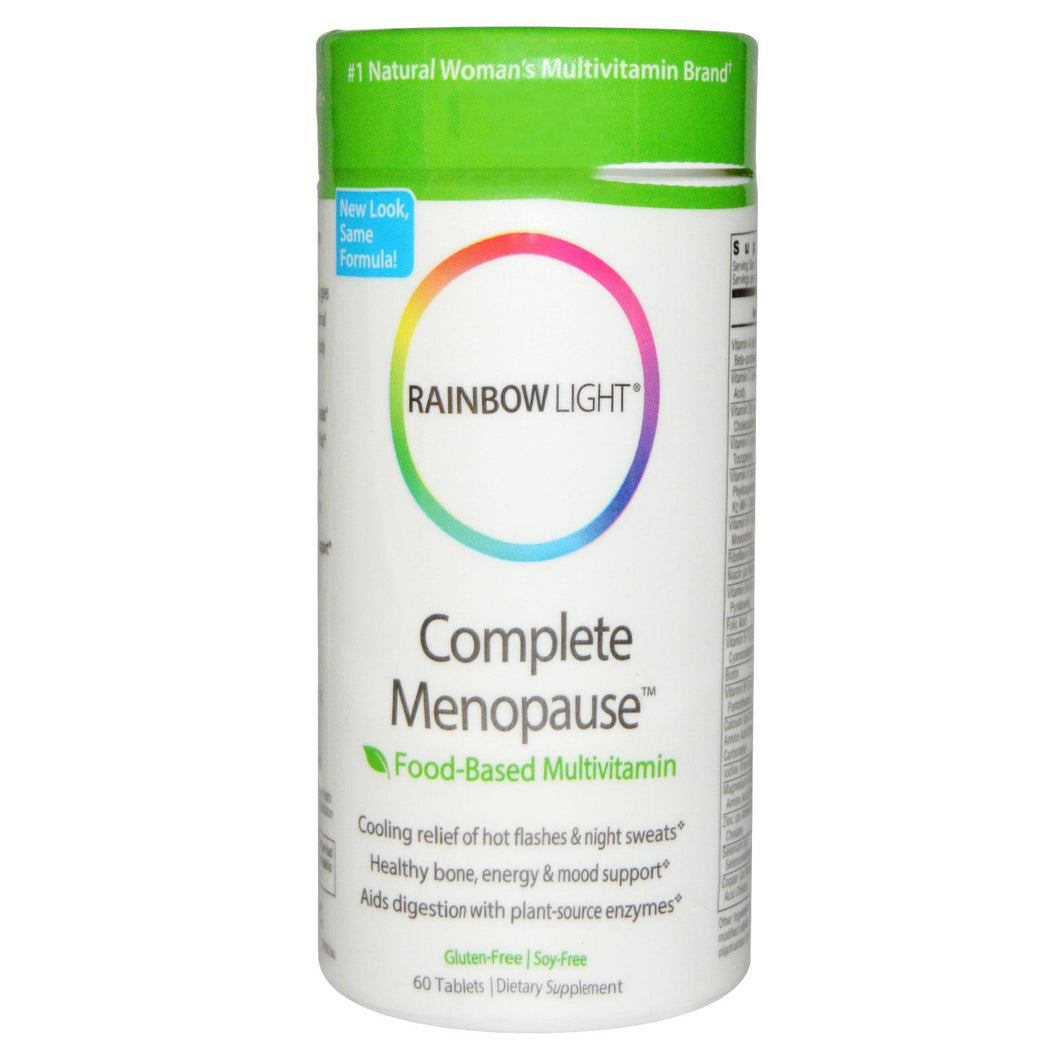 Rainbow Light, Complete Menopause, Food-Based Multivitamin, 60 Tablets