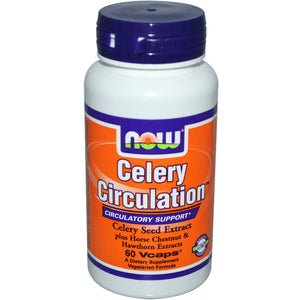 Now Foods, Celery Circulation, 60 Vcaps ... VOLUME DISCOUNT