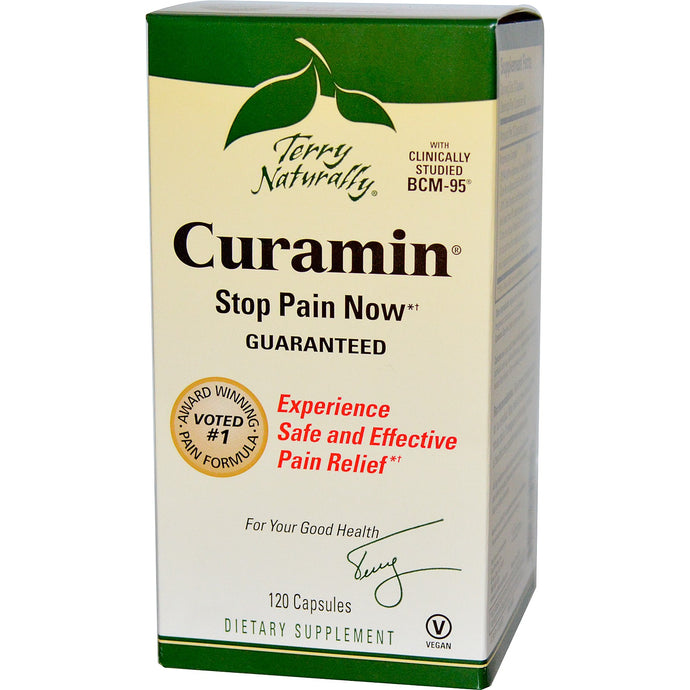 EuroPharma Terry Naturally  Curamin 120 Capsules  - Dietary Supplement