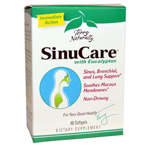 EuroPharma, Terry Naturally, SinuCare with Eucalyptus, 60 Softgels