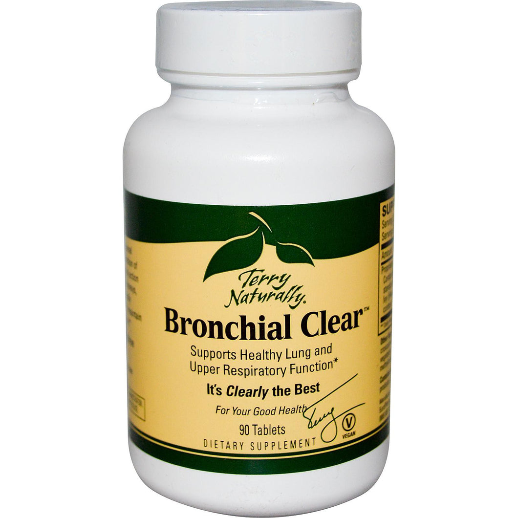 EuroPharma, Terry Naturally, Bronchial Clear, 90 Tablets