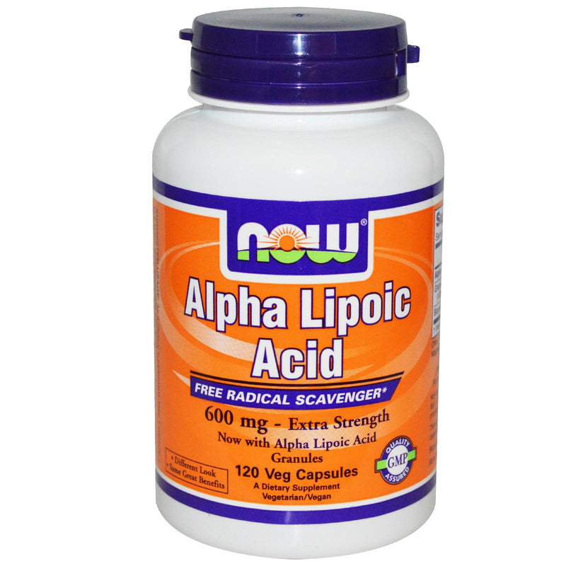 Now Foods Alpha Lipoic Acid 600 mg 120 Vcaps - Dietary Supplement