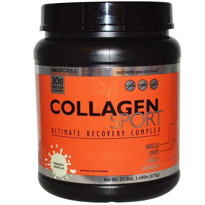 Neocell, Collagen Sport, Ultimate Recovery Complex, French Vanilla, 675 g