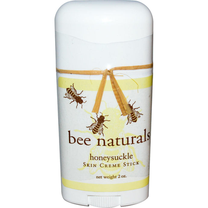 Bee Naturals, Skin Creme Stick, HoneySuckle, 2 oz