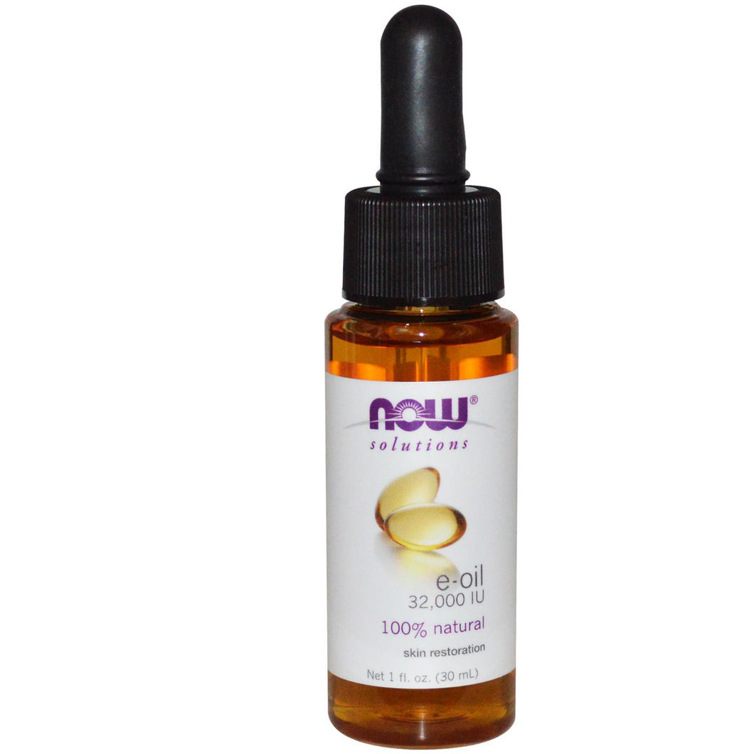 Now Foods, Solutions, E-Oil, 32,000 IU, 30 ml