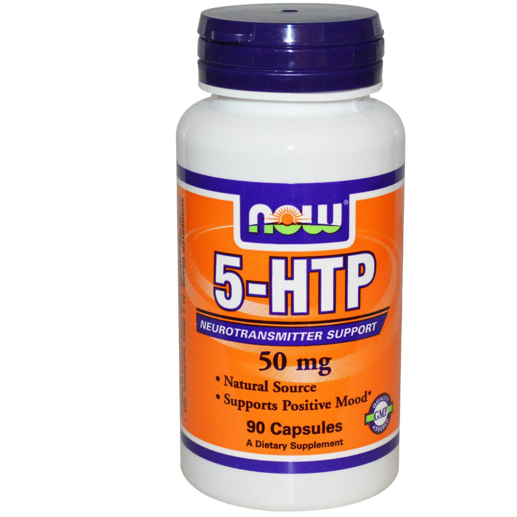 Now Foods, 5-HTP, 50 mg, 90 Capsules