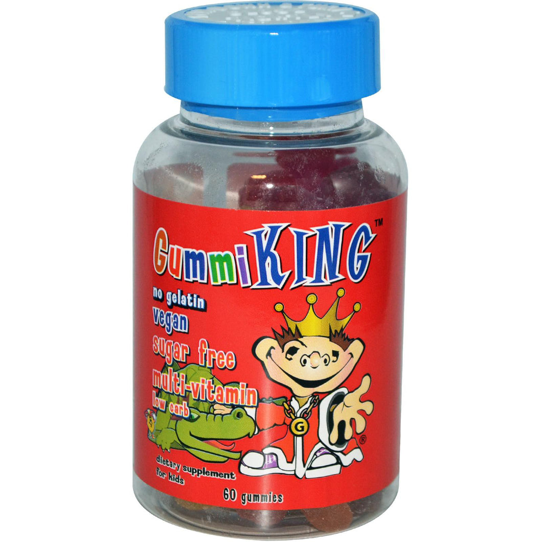 Gummi King, Sugar Free, Multi-Vitamin & Mineral, For Kids, 60 Gummies