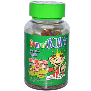 Gummi King, Echinacea Plus Vitamin C & Zinc, for Kids, 60 Gummies