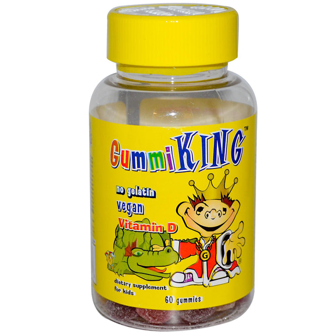 Gummi King, Vitamin D, for Kids, 60 Gummies