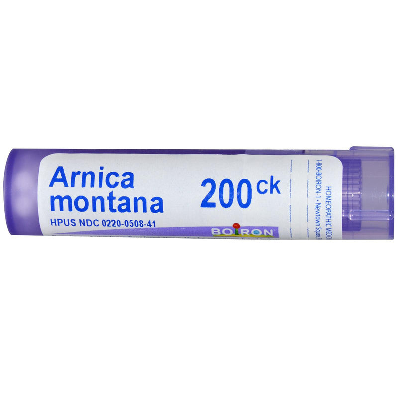 Boiron, Single Remedies, Arnica Montana 200CK, Approx 80 Pellets