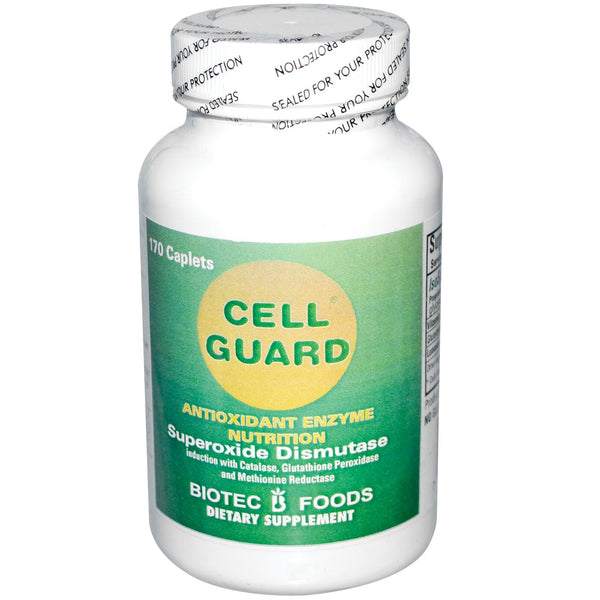 Biotec Foods, cell Guard, Antioxidant Enzyme Nutrition, 170 Caplets