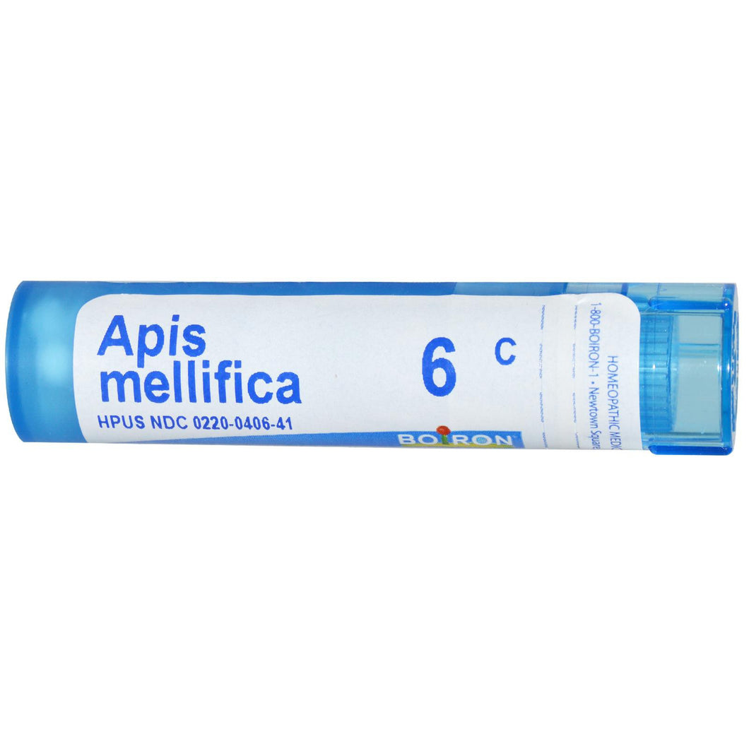 Boiron, Single Remedies, Apis Mellifica, 6C, Approx, 80 Pellets