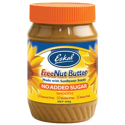 Eskal, Freenut Butter, Smooth, 450 g