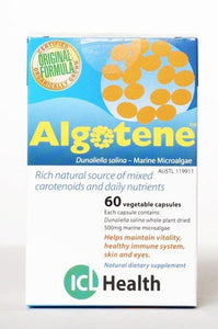 Interclinical Laboratories (ICL) Health, Algotene (Microalgae), 60 Vcaps
