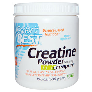 Doctor's Best Creatine Powder Featuring Creapure 300 g