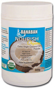 Banaban, Nourish Coconut Oil Powder, 300 g