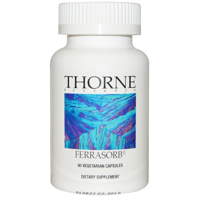 Thorne Research Ferrasorb 60 Vcaps - Dietary Supplement
