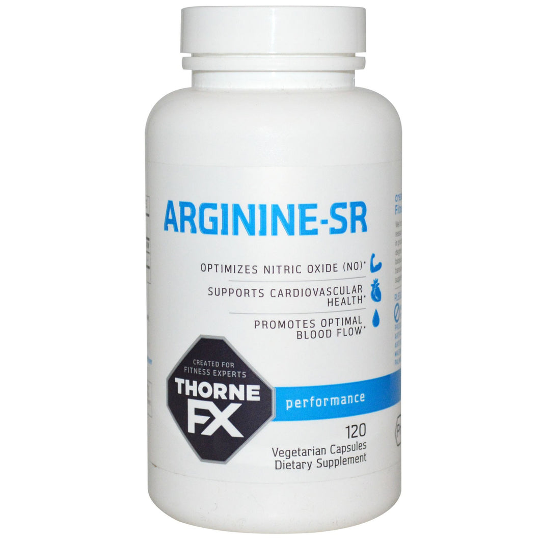 Thorne FX, Arginine-SR, Performance, 120 Vcaps ... VOLUME DISCOUNT
