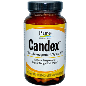 Pure Essence Candex Yeast Management 120 Capsules - Dietary Supplement