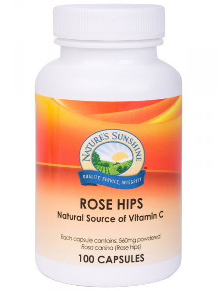 Nature's Sunshine, Rose Hips, 560 mg, 100 Capsules