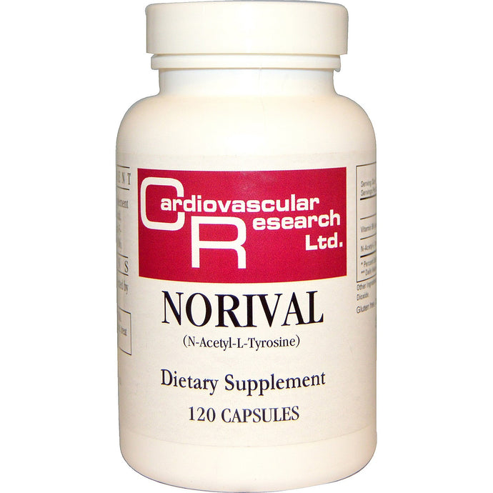Cardiovascular Research Ltd. Norival 120 Capsules - Dietary Supplement